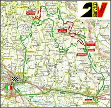 Cartina Rally Due Valli 2011